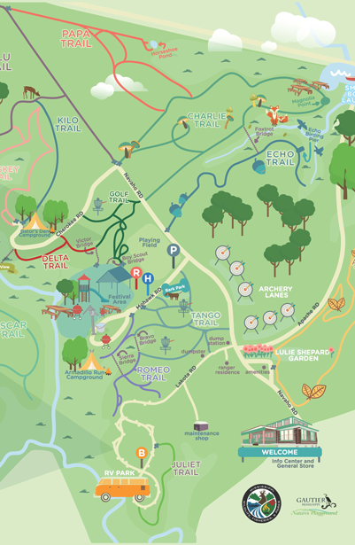 Shepard-State-Park-Map