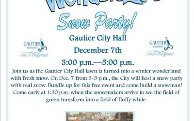 Winter Wonderland, Dec. 7, at Gautier City Hall