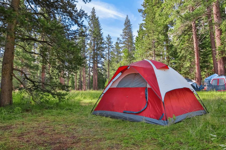 Tent camping - Primitive Camping